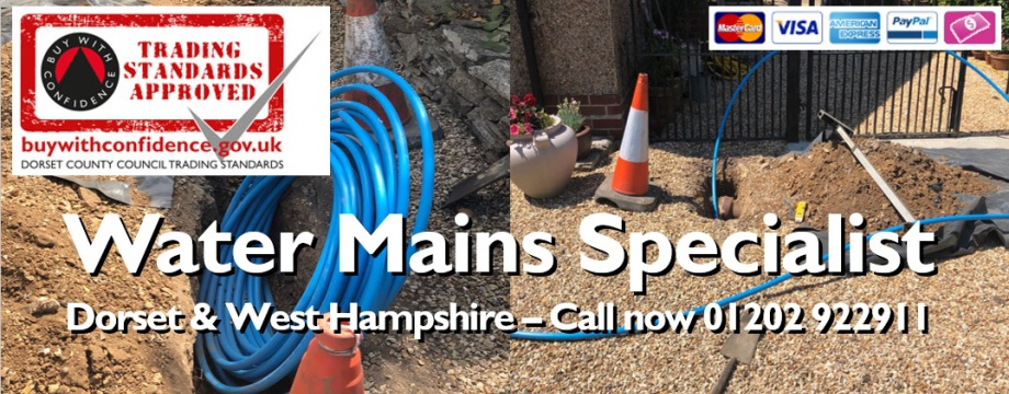 water mains repair dorset